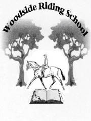 Woodside Riding School Logo;